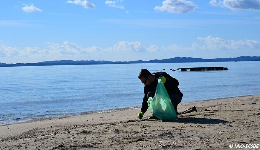MIO-ECSDE Concludes Marine Litter Surveys in Thesprotia, Greece